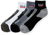 Polo Ralph Lauren Color-Block Ankle Sock 3-Pack