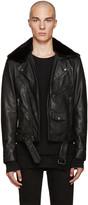 BLK DNM Black Leather Classic Biker 5 Jacket