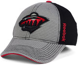 Reebok Minnesota Wild Travel and Training Flex Cap
