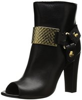 Just Cavalli Women's Goat Leather Heeled Boot