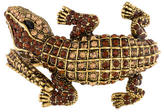 Kenneth Jay Lane Alligator Crystal Bangle