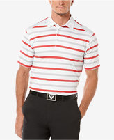 Callaway Men's Performance Striped Golf Polo