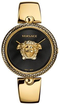 Versace Women's Palazzo Empire Semi Bangle Bracelet Watch, 39mm