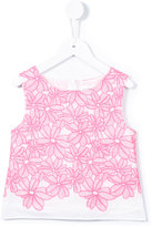 Charabia embroidered top