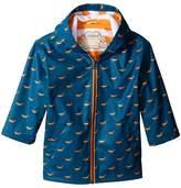 Hatley Tiny Whales Splash Jacket Boy's Coat
