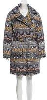 Kenzo Printed Puffer Coat