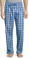 Derek Rose Plaid Cotton Pajama Pants, Blue