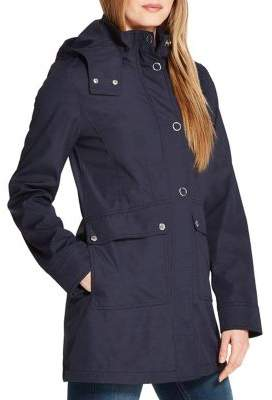 Weatherproof Hooded Bonded Shaped Walker Jacket