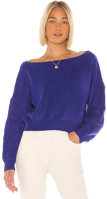superdown Lulu Off Shoulder Sweater