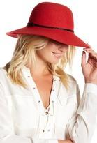 Helen Kaminski Wool Braided Strap Round Hat