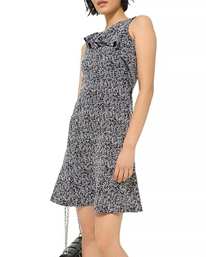 MICHAEL Michael Kors Jacquard Flutter Mini Dress