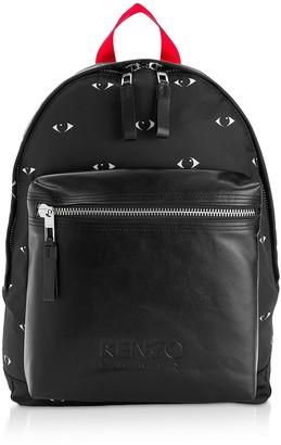 Kenzo Eye Black Backpack