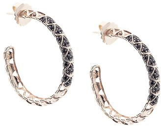 John Hardy Legends Naga sapphire hoop earrings