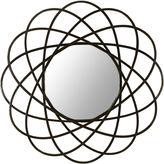 Asstd National Brand Galaxy Round Wall Mirror