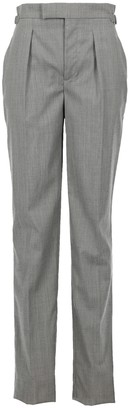 Roberto Cavalli Grey Cloth Trousers for Women Vintage