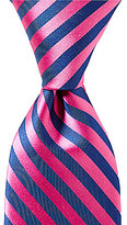 Roundtree & Yorke Hot Stripe Traditional Silk Tie