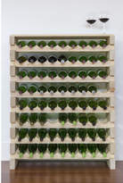 8 Layers of 9 Bottles Wine Rack Finish: Top Shelf Natural