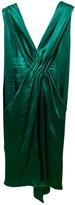 Ungaro Green Silk Dress for Women