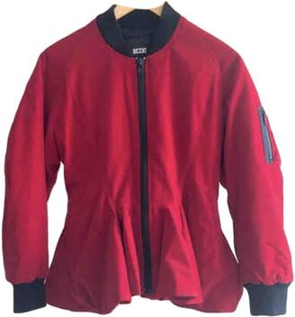 Kokon To Zai Red Velvet Leather jackets