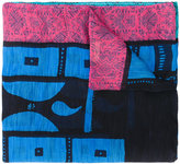 Etro printed scarf - unisex - Silk/Linen/Flax - One Size