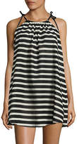 Kate Spade New York Striped Cover-Up Dress