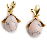 Lele Sadoughi Blooming Bud Drop Earrings