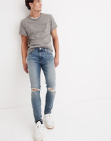Madewell Skinny Jeans in Vintage Light: Ripped Edition