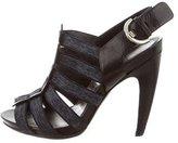 Sergio Rossi Mutlistrap Slingback Sandals