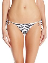 Sofia by Vix Women's Breeze Slim Tie-Side Full Bikini Bottom