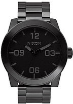 Nixon The Corporal Stainless Steel 3 Hand Bracelet Watch