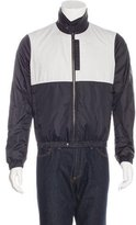 Bottega Veneta Colorblock Windbreaker Jacket