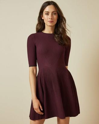 Ted Baker Stretch Knitted Skater Dress