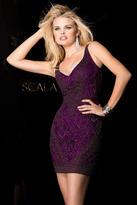 Scala 48561 Dress In Wine
