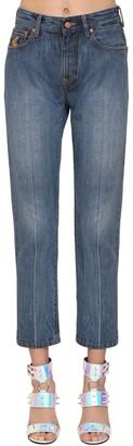 Vivienne Westwood Straight Leg Cotton Denim Jeans