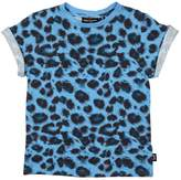Rock Your Baby Blue Leopard Tee