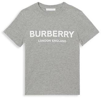 Burberry Little Kid's & Kid's Robbie Branded Tee