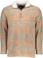 True Grit Spice Plaid Half-Zip Pullover