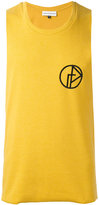 Gosha Rubchinskiy embroidered tank top - men - Cotton/Polyester - S