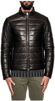 Tod's Black Quilted Leather Jacket