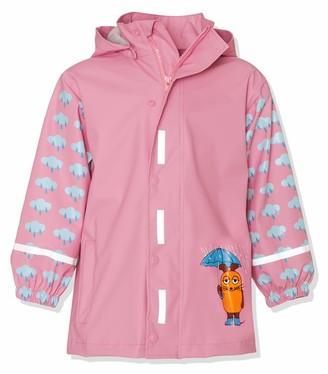 Playshoes Girl's Rain Jacket Raincoat Mouse and Elephant