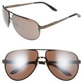 Men's Carrera Eyewear Ca102 65Mm Aviator Sunglasses - Brown