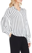 Vince Camuto Women's Stripe Puff Sleeve Blouse