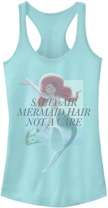 "Licensed Character Juniors' Disney's The Little Mermaid ""Salty Air Don't Care"" Tank Top"