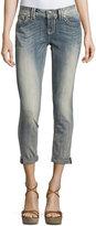 Miss Me Faded Skinny Mid-Rise Denim Jeans, Light Wash 90