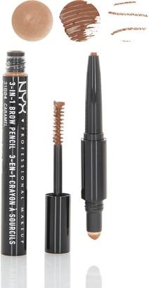 NYX 3-In-1 Brow Pencil - Caramel