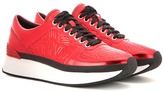 Kenzo Embossed Metallic Sneakers