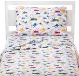 Circo Airplane Microfiber Sheet Set Multicolor - Pillowfort