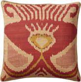 OKA Ulaika Cushion Cover Vermillion Red