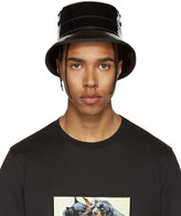 Givenchy Black Shiny Bucket Hat