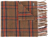 Ami Alexandre Mattiussi square pattern scarf - men - Virgin Wool - One Size